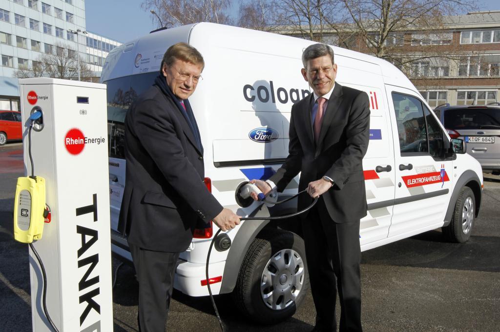 Ford bringt Transit Connect Electric in Kölner Projekt ein