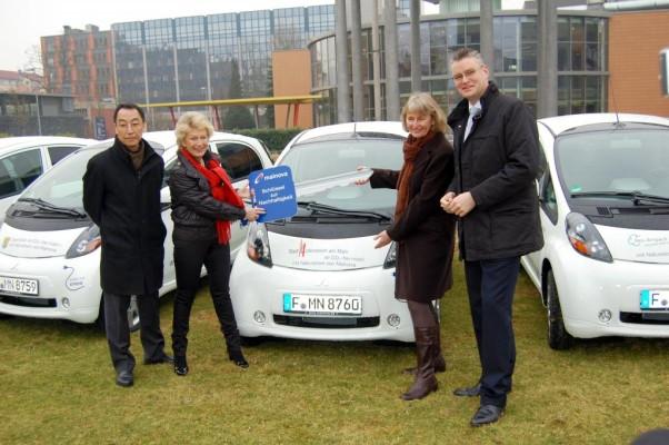 Frankfurter Umlandgemeinden nutzen Mitsubishi i-MiEV