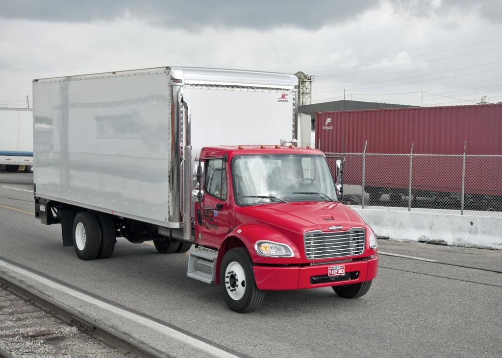 Freightliner:1000stes Hybrid-Nutzfahrzeug rollt vom Band.