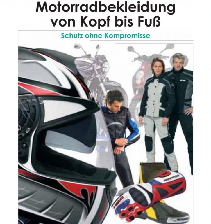 GTÜ gibt Tipps für sichere Motorradbekleidung