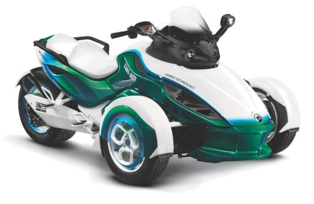 Genf 2011: BRP zeigt Can-Am Spyder Hybrid Roadster-Konzept