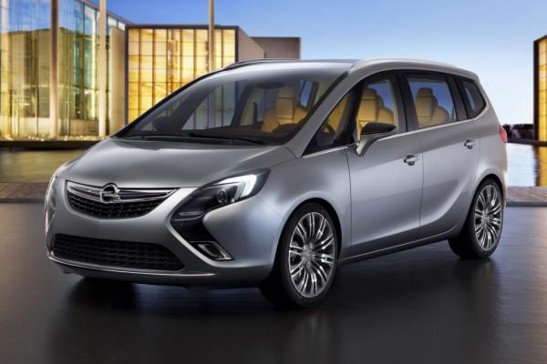 Genf 2011: Opel Zafira Tourer Concept - Vom Familien-Laster zur Business-Zug