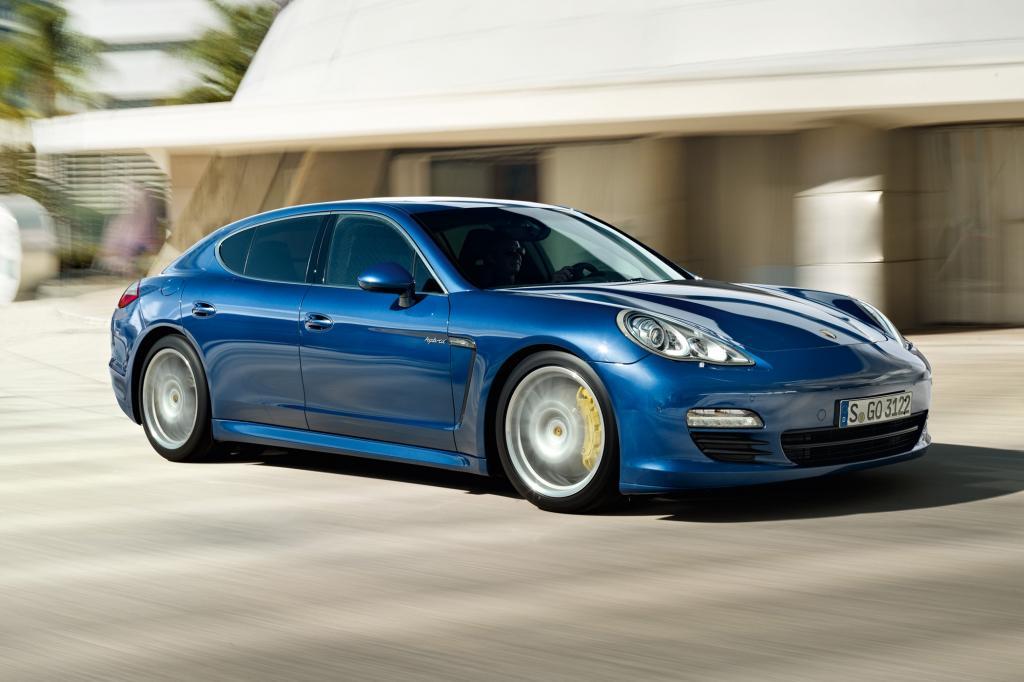 Genf 2011: Porsche Panamera S Hybrid - Saubere Lösung