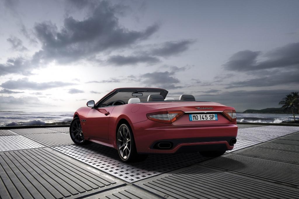 Genf 2011: Sportlich oben ohne: Maserati präsentiert den GranCabrio Sport