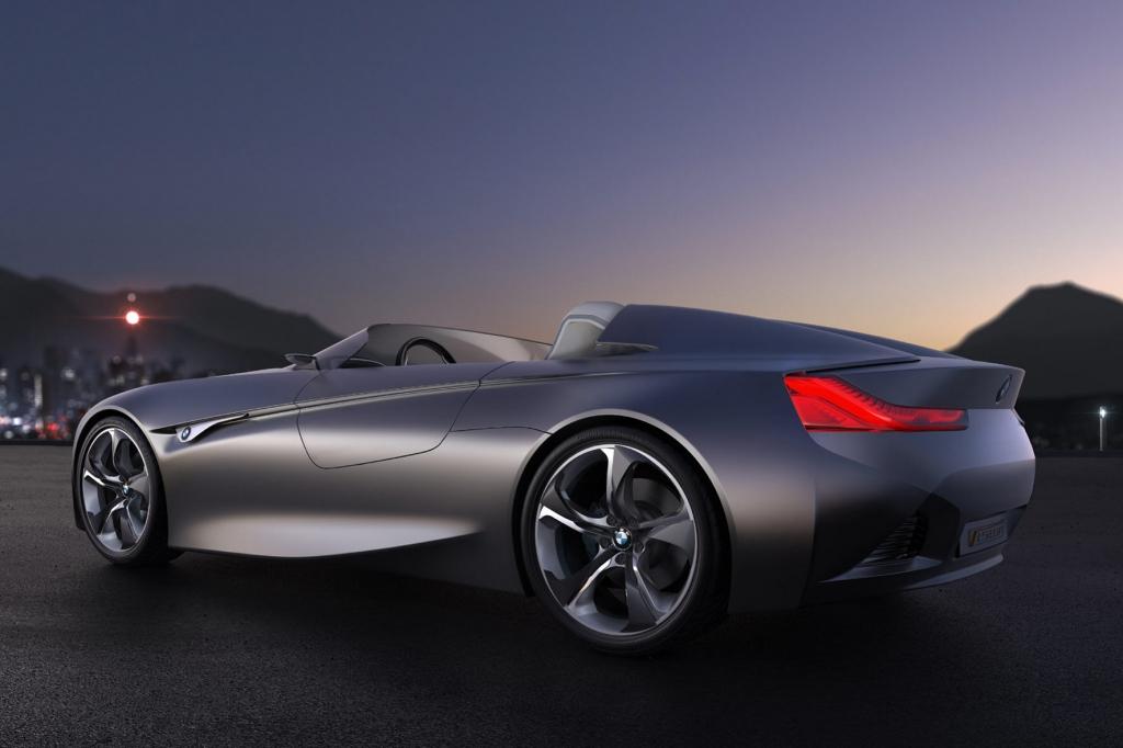 Genfer Auto Salon: BMW mit futuristischer Roadsterstudie