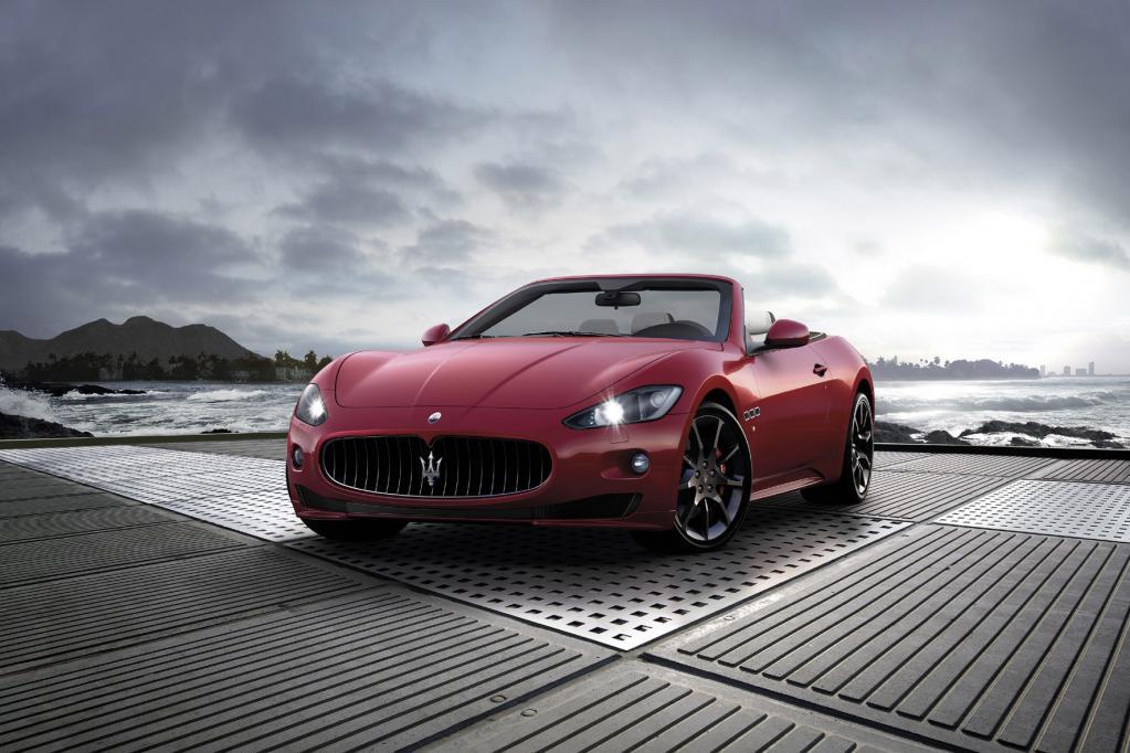 Gibt auf dem Genfer Salon (3. bis 13. März) sein Debüt: der Maserati GranCabrio Sport.