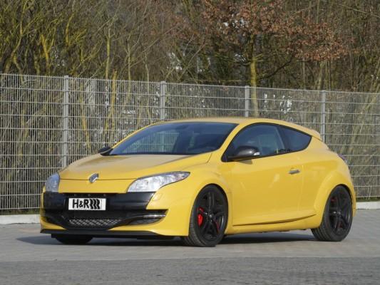 H&R bietet Tieferlegung für Renault Megane Coupé RS