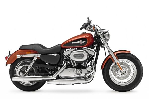 Harley-Davidson Sportster 1200 Custom - Nackt auf die Straße