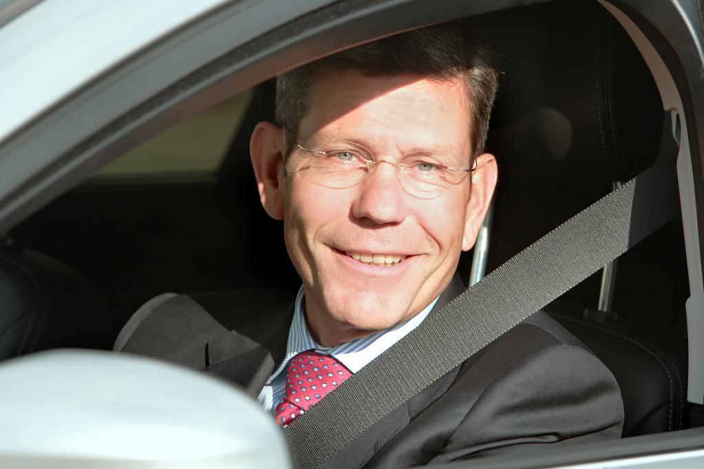 Hat gut lachen: Ford Deutschland-Chef Bernhard Mattes hat die Marke in Europa wieder auf Kurs gebracht.