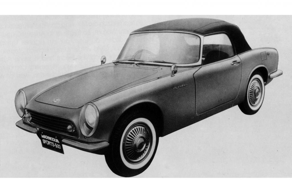 Honda S500, 1964