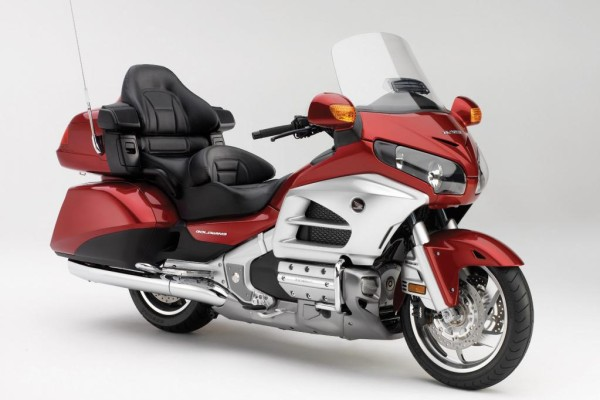Honda zeigt neue Version der Honda GL 1800 Gold Wing