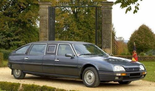 Honeckers Spezialanfertigung, der Citroën CX Prestige Rallongé Turbo II, Bild: Retromode
