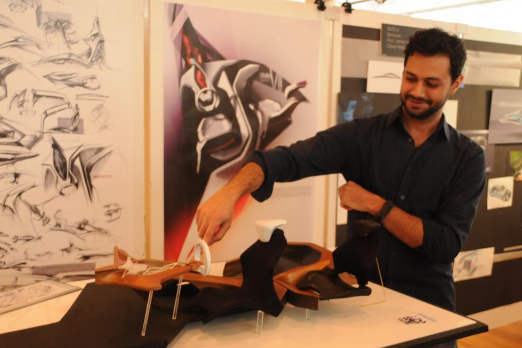 Hussein Alattar erklärt sein Interieur-Konzept