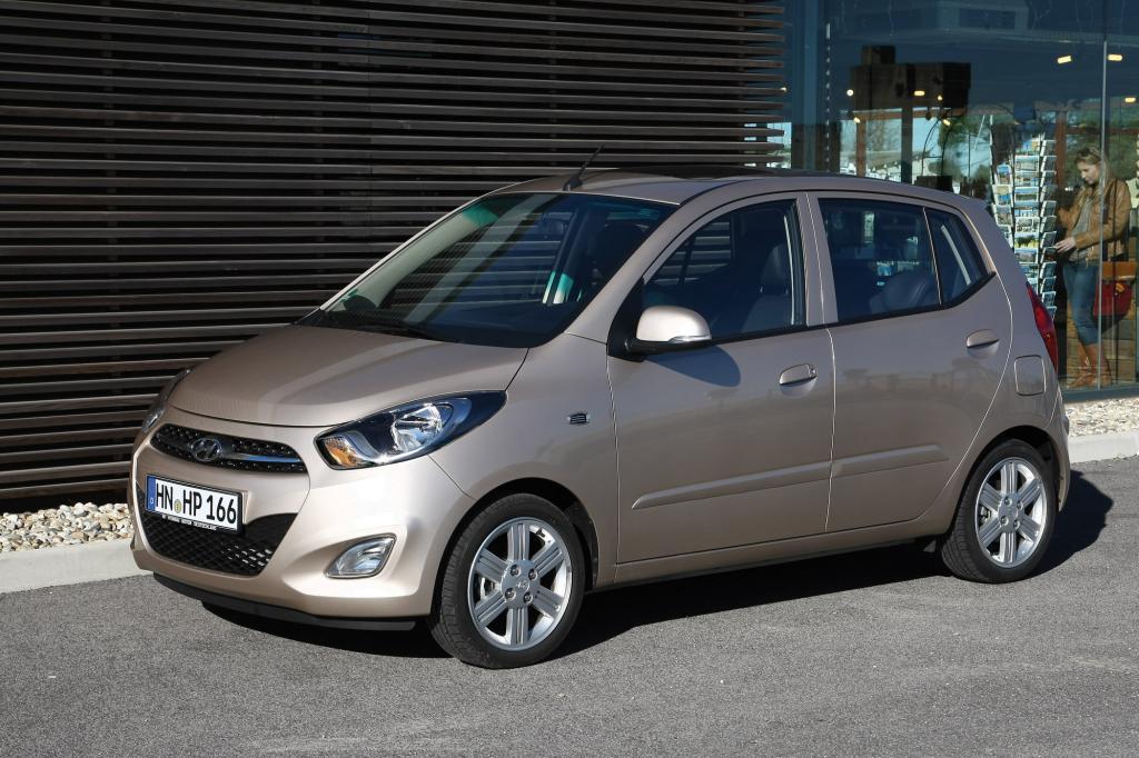 Hyundai i10 - Aufgefrischter Frauenliebling