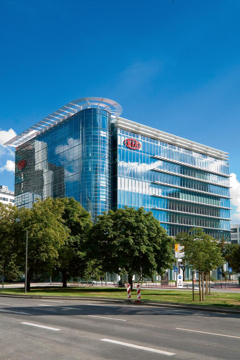Im Jahr 2005 ist Kia die am schnellste wachsende Marke am deutschen Markt.