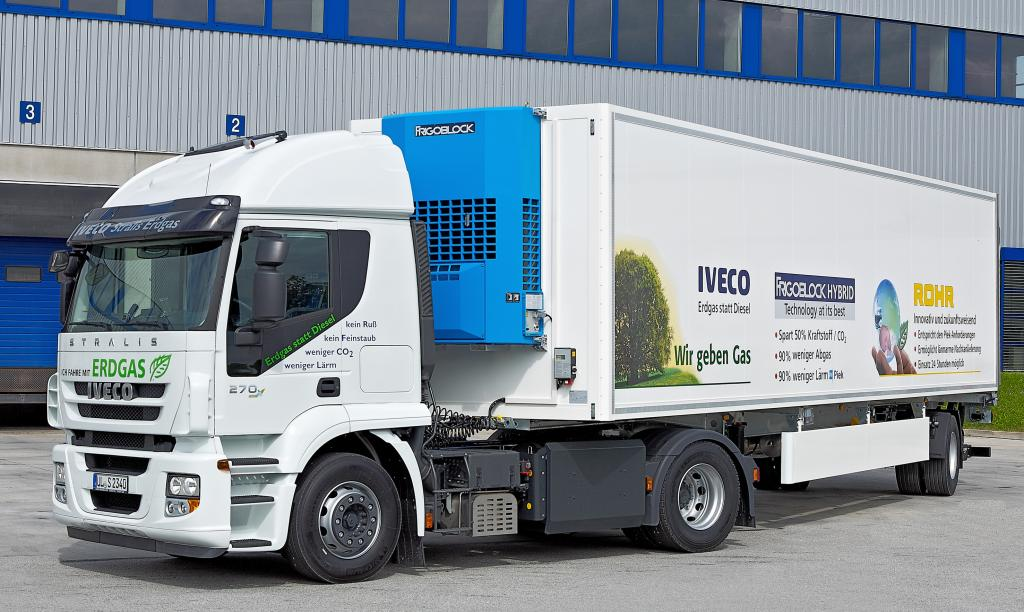 Iveco stellt Stralis CNG aus