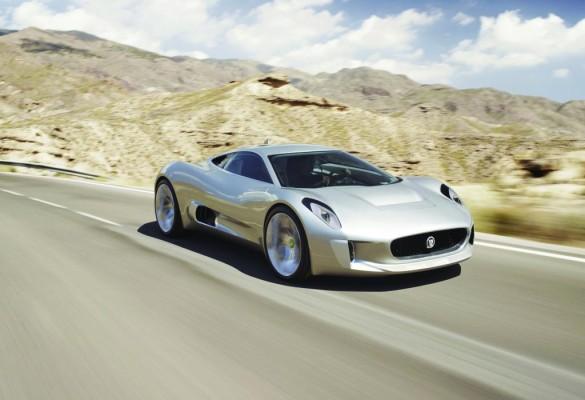 Jaguar C-X75 erhält