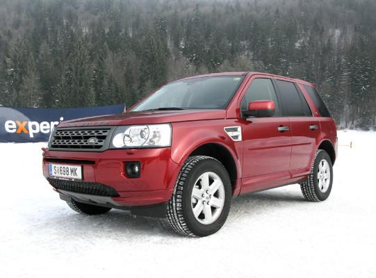 Künftig sogar mit Vorderradantrieb: Land Rover hat Freelander effizienter gemacht
