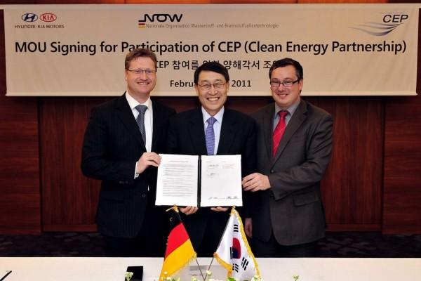 Kia will Brennstoffzellen-Fahrzeuge in Deutschland fördern