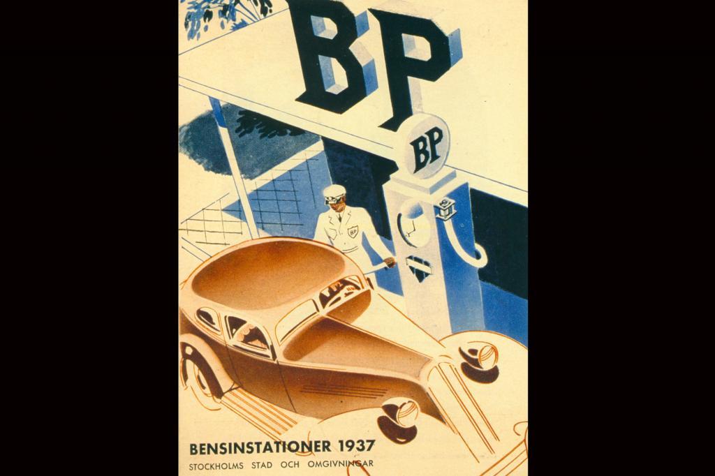 Klassisches Werbeplakat von 1937
