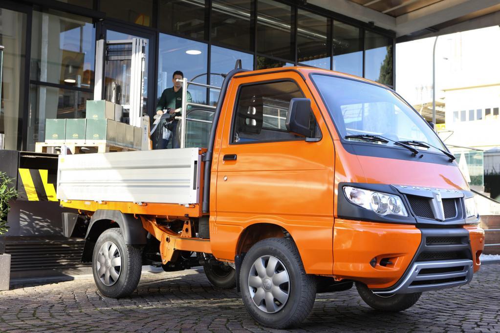 Kleintransporter: Piaggio Porter mit zwei neuen Motoren