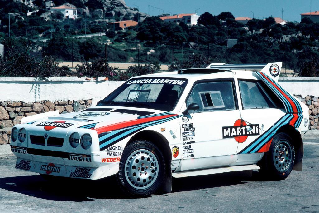 Lancia Delta S4 Gruppe B-Rennwagen