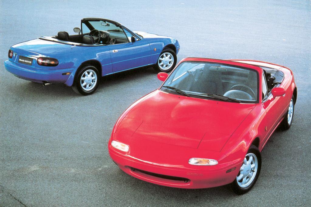 Lang lebe dieser Roadster - der Mazda MX-5