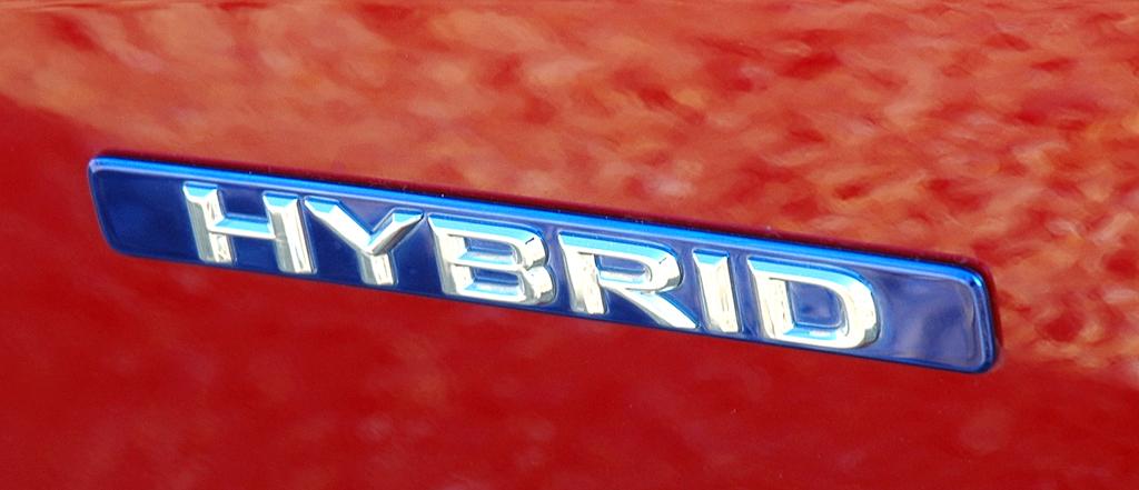 Lexus CT 200h: Antriebskennung an der Seite.