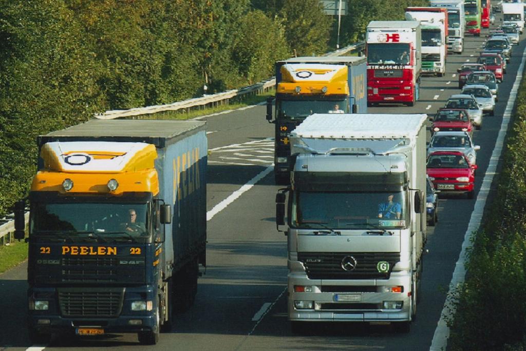 Lkw-Überholverbot in Ungarn