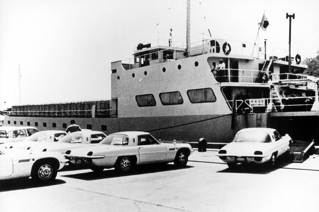 Mazda Cosmo Sport 110S, 1968.