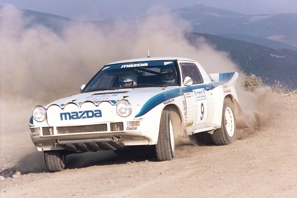 Mazda RX7 Gruppe B