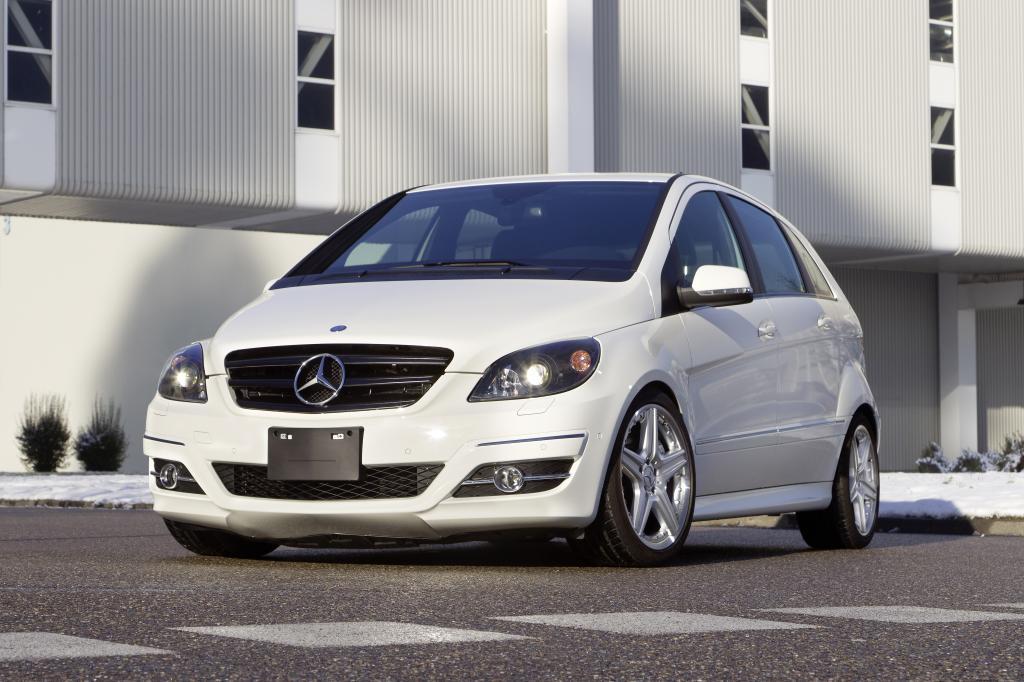 Mercedes-Benz B-Klasse mit V8-Motor.