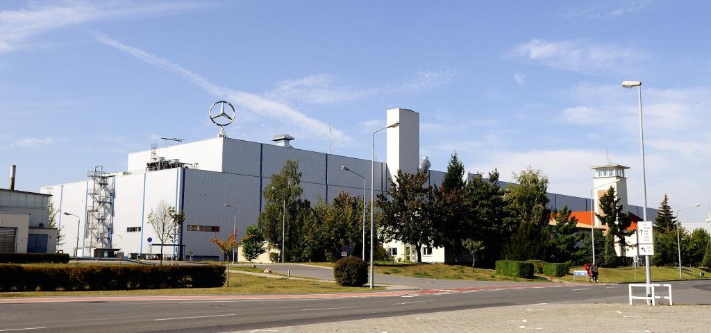 Mercedes-Benz Werk Ludwigsfelde.