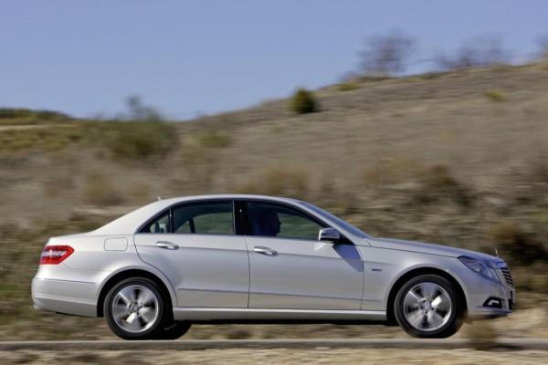 Mercedes E-Klasse als Erdgas-Mobil
