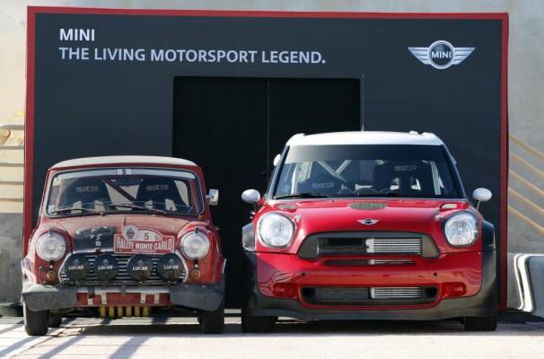 Mini fährt ausgewählte WRC-Läufe mit