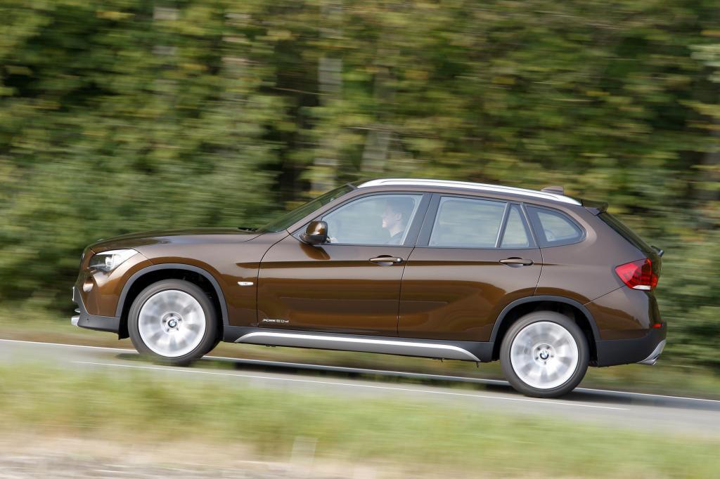 Mit dem 2,0-Liter-Diesel ist der X1 ausreichend motorisiert