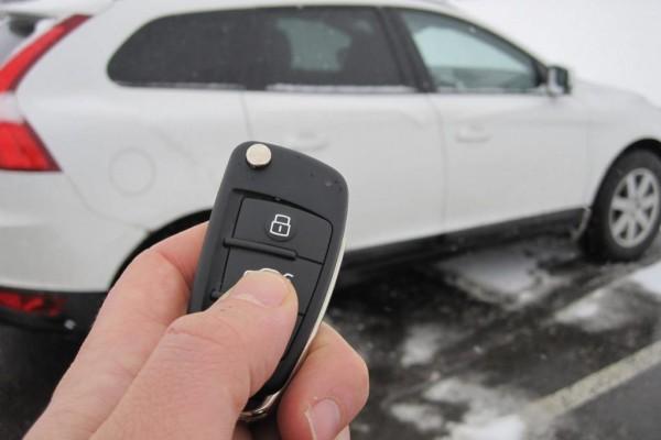 Mobiltelefon statt Autoschlüssel