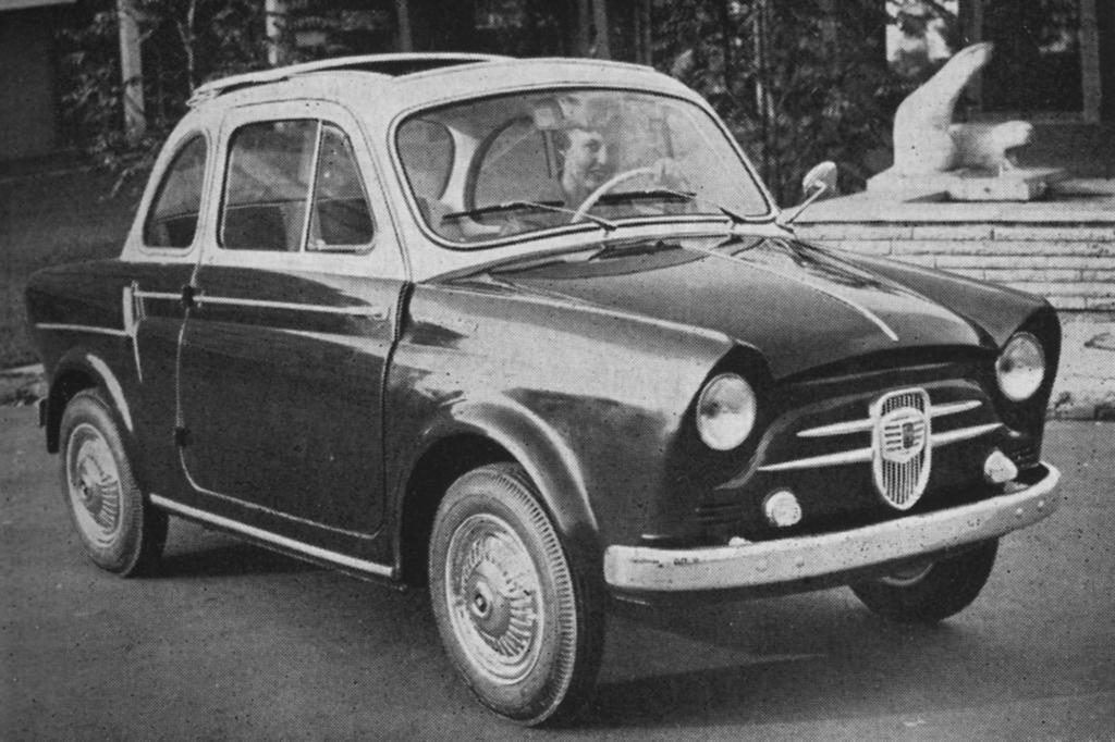 NSU Fiat Weinsberg 500 Limousette, 1959