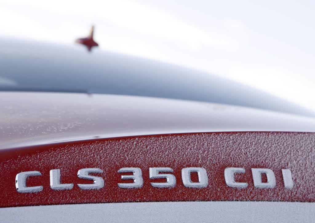 Neben dem CLS-500-Benziner bietet Mercedes 4Matic auch im Turbodiesel-CLS 350 CDI an.