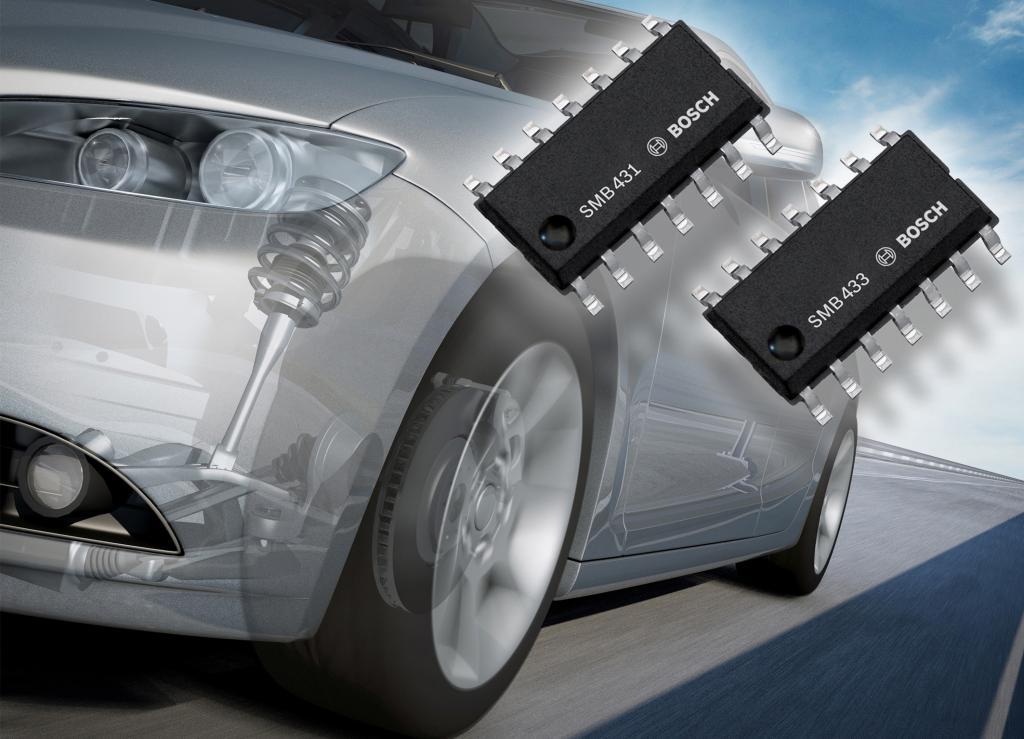 Neue Bosch-Sensoren für die Fahrwerksregelung