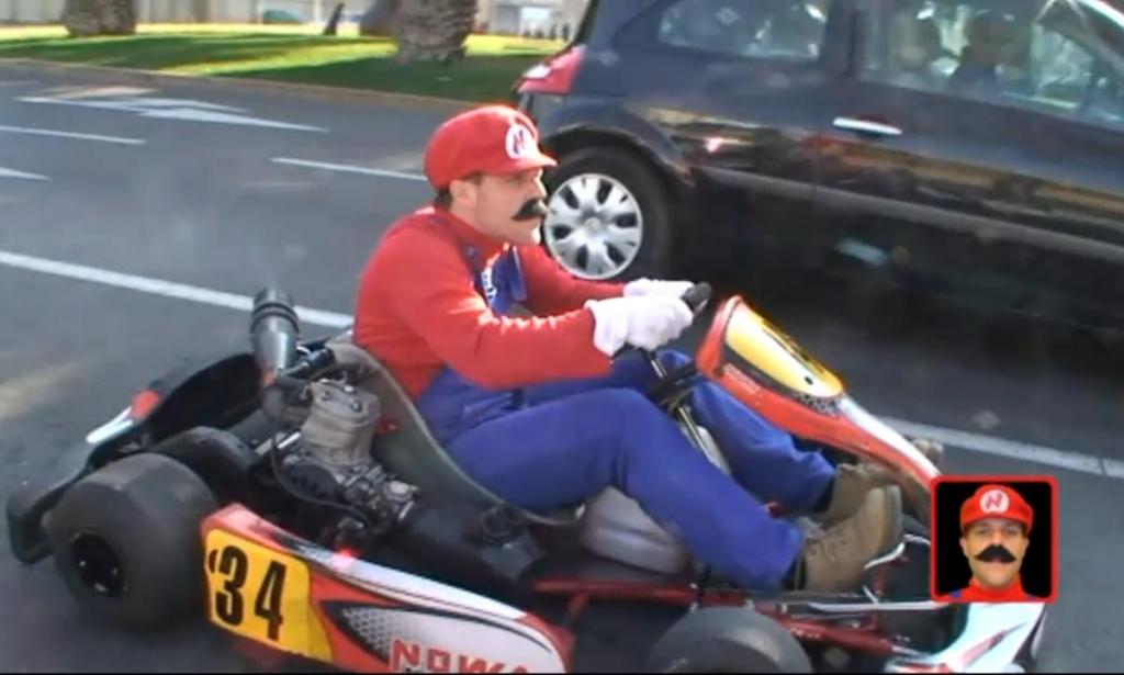 On the road: Der echte Super Mario