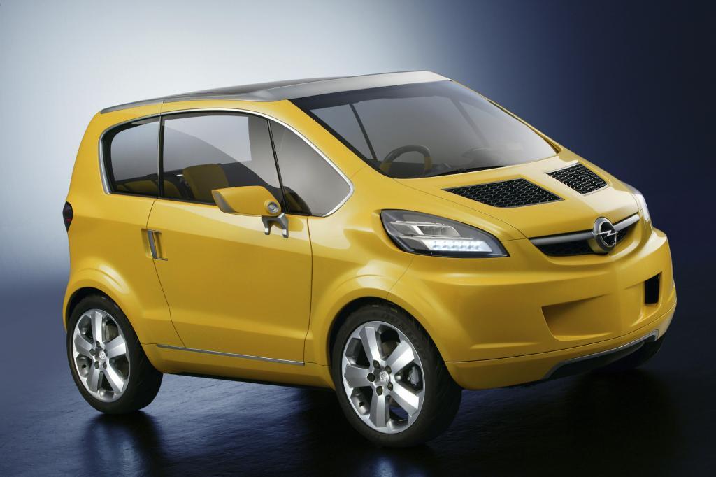 Opel Stadtwagen - Es geht noch kleiner