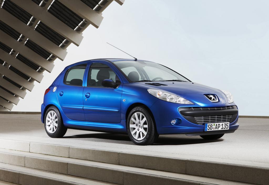 Peugeot 206+ bis 31. März zu Sonderkonditionen