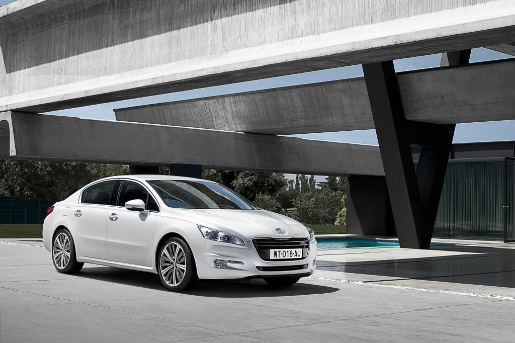 Peugeot 508 VIP-Shuttles für die Showproduktion Magnifico.