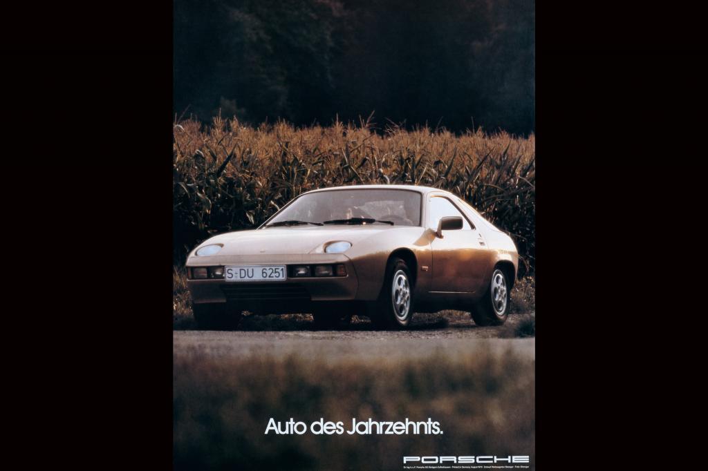 Porsche 928 Werbung, 1979
