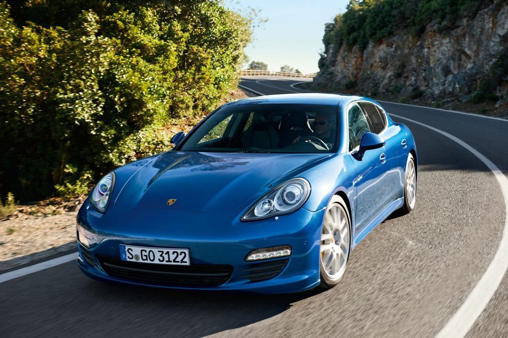 Porsche Panamera S Hybrid - Saubere Lösung