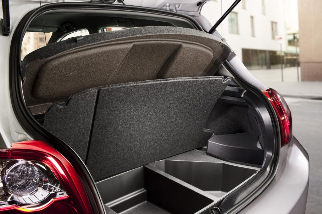 Praktisch: der Kofferraum mit dem doppeltem Boden