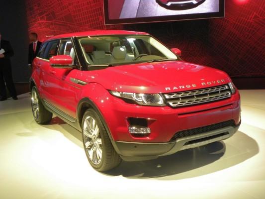 Range Rover Evoque glänzt auch auf der CeBIT in Hannover