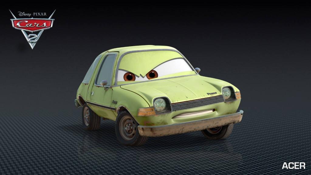 Sehnsüchtig erwartet - Auto.de stellt die neuen Autos aus Cars 2 vor. Acer.