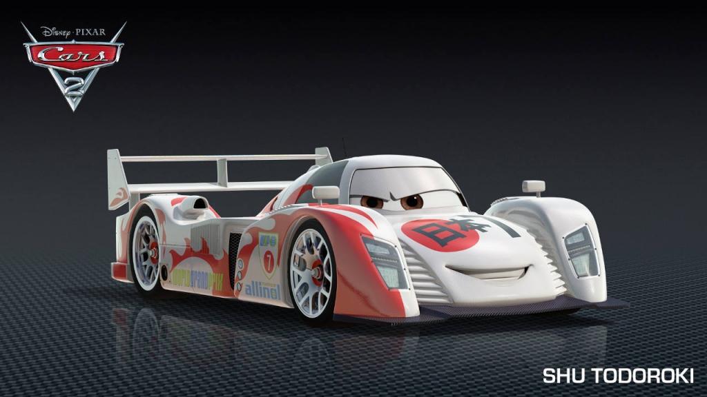 Sehnsüchtig erwartet - Auto.de stellt die neuen Autos aus Cars 2 vor. International wird die Cars 2-Truppe auch durch den Japaner Shu Todoroki ergänzt, der sein Heimatland beim Grand Prix vertreten will.